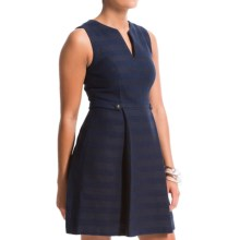 Cynthia Steffe Addison Fit & Flare Dress - Sleeveless (For Women) in Deep Indigo - Closeouts