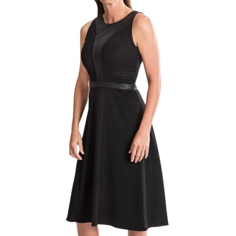 Cynthia Steffe Loran Illusion Dress Sleeveless (For Women)