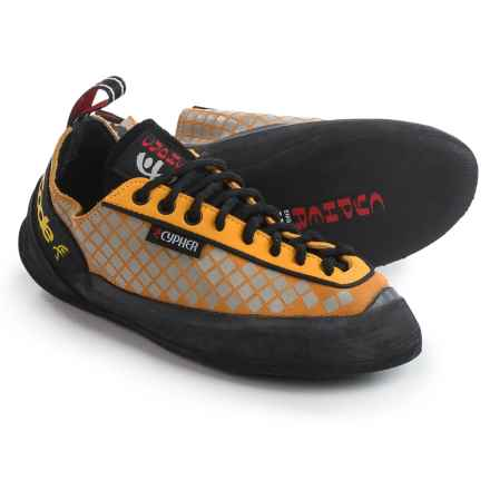 Cypher Code Climbing Shoes - Leather (For Men and Women) in Yellow - Closeouts