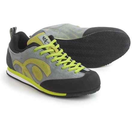 Cypher Logic Approach Shoes - Enigma Outsole (For Men and Women) in Grey/Black - Closeouts