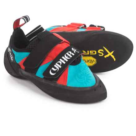 Cypher Phelix Climbing Shoes (For Women) in Blue/Red - Closeouts
