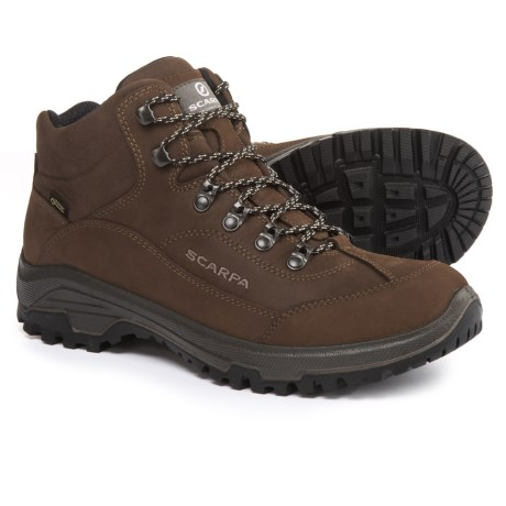 Image of Cyrus Mid Gore-Tex(R) Hiking Boots - Waterproof (For Men)