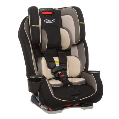 Image of Cyrus Milestone All-in-1 Convertible Car Seat - Safety Surround