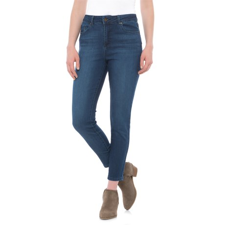 D. Jeans Super High-Waisted Comfort Fit Ankle Jeans (For Women) in Dark Elise