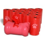 d2w® Dog Waste Pick-Up Bags with Dispenser - 240-Pack