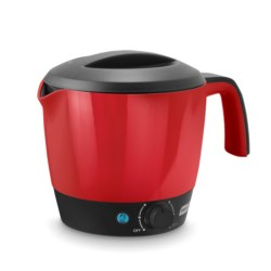 da-sh Dash Rapid Boil Express Multi-Pot Cooker - 1.2L in Red/Black