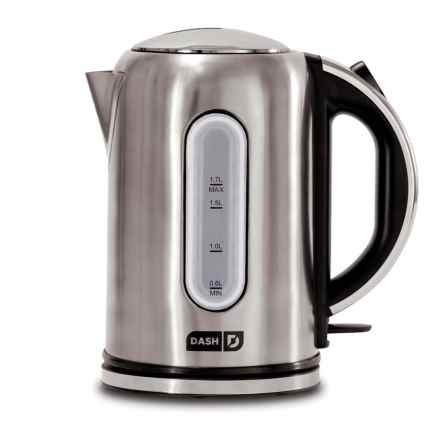 da-sh Dash Rapid Electric Kettle in Stainless Steel - Closeouts