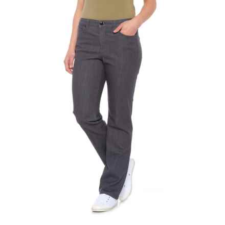 da-sh Five-Pocket Twill Jeggings (For Women) in Grey Denim - Closeouts