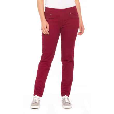 da-sh Malbec Twill Pull-On Pants (For Women) in Malbec - Closeouts