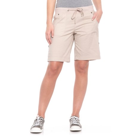 da-sh Marguerita Roll-Up Convertible Shorts (For Women) in Sandstone
