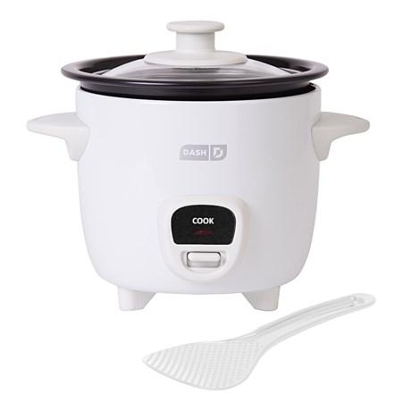 da-sh Mini Rice Cooker - 2 Cups, 200 Watts in White