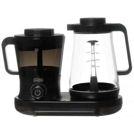 da-sh Rapid Cold-Brew Coffee System in Black - Overstock