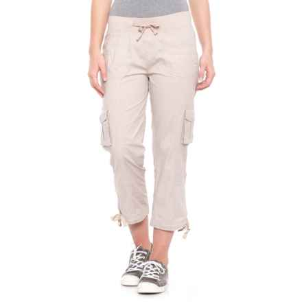 da-sh Sheryl Roll-Up Convertible Capris (For Women) in Sandstorm - Closeouts