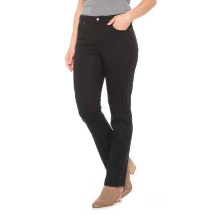 da-sh Twill Five-Pocket Jeggings (For Women) in Black - Closeouts
