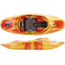 "Dagger Agent 6.2 Whitewater Kayak - 6'2"" in Red/Yellow - 2nds"