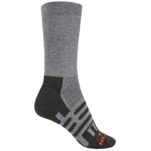 Dahlgren Forest and Field Midweight Hiking Socks - Crew (For Women) in Charcoal - Closeouts