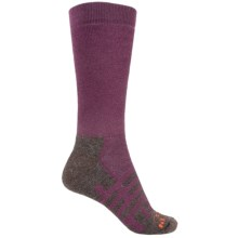 Dahlgren Forest and Field Midweight Hiking Socks - Crew (For Women) in Eggplant - Closeouts