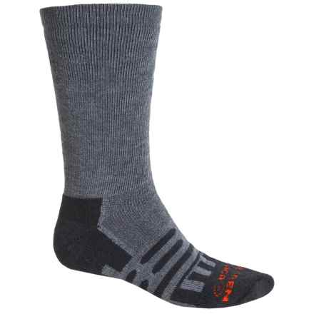Dahlgren Forest and Field Socks - Merino Wool-Alpaca, Heavyweight, Crew (For Women) in Charcoal - Closeouts
