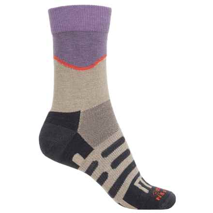 Dahlgren Half Pass Hiking Socks - Crew (For Women) in Moonrock - Closeouts