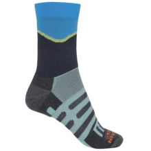 Dahlgren Half Pass Hiking Socks - Crew (For Women) in Navy - Closeouts