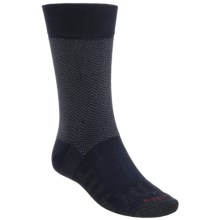 Dahlgren Herringbone Crew Socks (For Men) in Navy - Closeouts