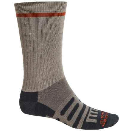 Dahlgren Multipass Alpaca Socks - Crew (For Men and Women) in Earth - Closeouts