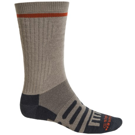 Dahlgren Multipass Alpaca Socks - Crew (For Men and Women) in Earth