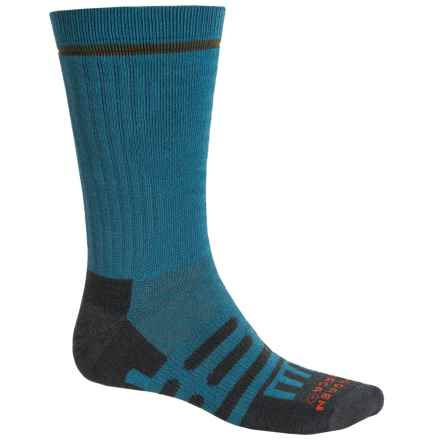 Dahlgren Multipass Alpaca Socks - Crew (For Men and Women) in Marine - Closeouts