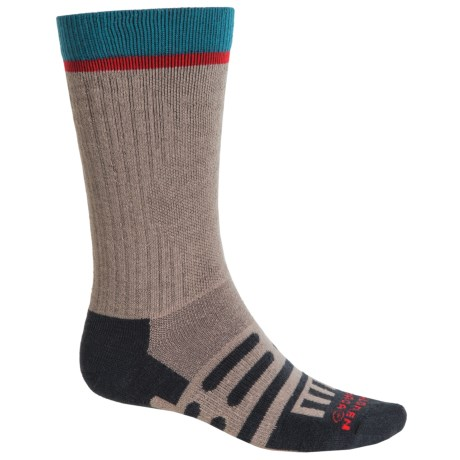 Dahlgren Multipass Alpaca Socks - Crew (For Men and Women) in Moonrock