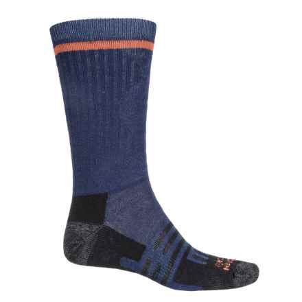 Dahlgren Multipass Alpaca Socks - Crew (For Men and Women) in Navy - Closeouts