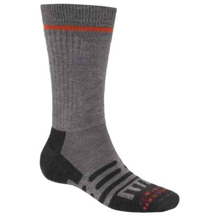 Dahlgren Multipass Alpaca Socks - Midweight, Crew (For Men and Women) in Charcoal - Closeouts