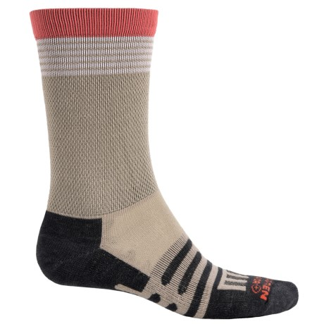 Dahlgren Multipass Light Alpaca Socks - Merino Wool, Crew (For Men and Women) in Moonrock