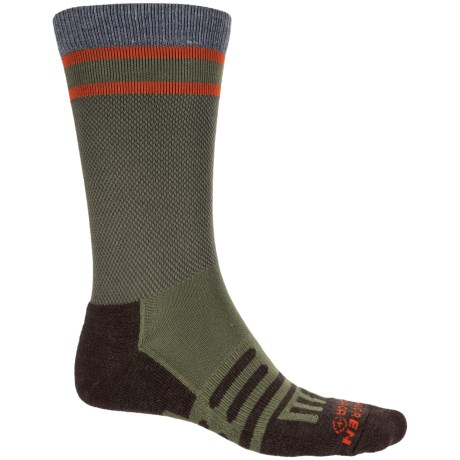Dahlgren Multipass Light Alpaca Socks - Merino Wool, Crew (For Men and Women) in Pine