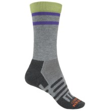 Dahlgren MultiPass Light Hiking Socks - Merino Wool, Crew (For Women) in Charcoal - Closeouts
