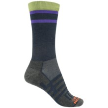 Dahlgren MultiPass Light Hiking Socks - Merino Wool, Crew (For Women) in Navy - Closeouts
