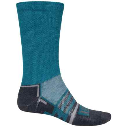 Dahlgren MultiPass Lightweight Socks - Merino Wool, Crew (For Men) in Blue - 2nds