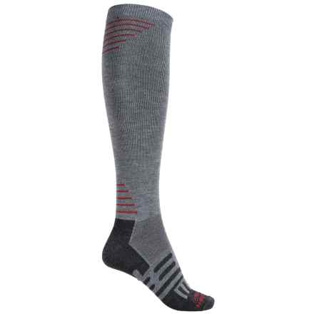 Dahlgren Multisport Compression Socks - Merino Wool-Alpaca, Over the Calf (For Men and Women) in Charcoal - 2nds