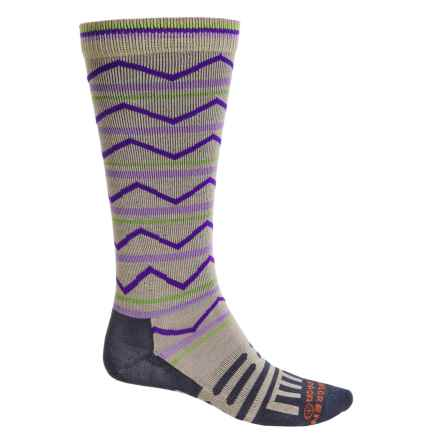 Dahlgren Multisport Compression Socks - Merino Wool-Alpaca, Over the Calf (For Men and Women) in Moonrock - 2nds
