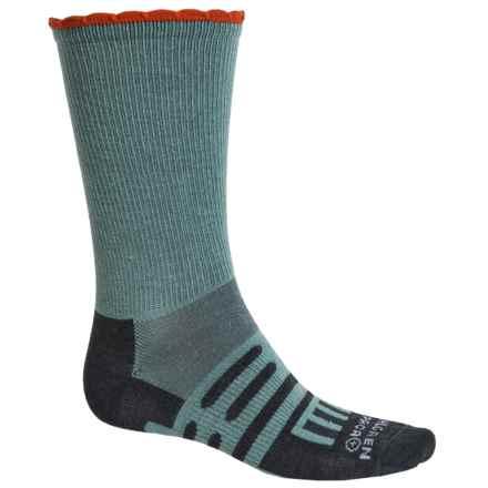 Dahlgren Petal Pusher Socks - Merino Wool, Crew (For Women) in Arctic - Closeouts