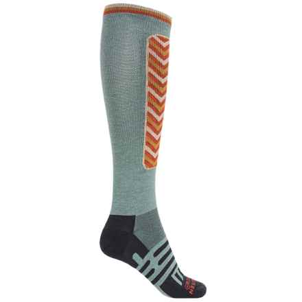 Dahlgren Sno Comp Ski Socks - Merino Wool-Alpaca, Over the Calf (For Men and Women) in Arctic - Closeouts