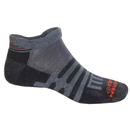 Dahlgren Trainer Socks - Ankle (For Men and Women) in Charcoal - Closeouts