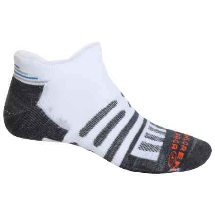 Dahlgren Trainer Socks - Ankle (For Men and Women) in White - Closeouts
