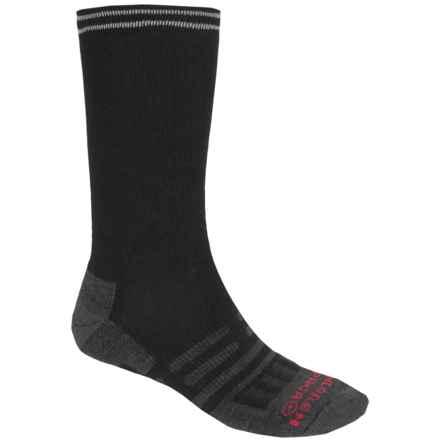 Dahlgren Transit Freelance Socks - Merino Wool-Alpaca, Crew (For Men) in Black - Closeouts