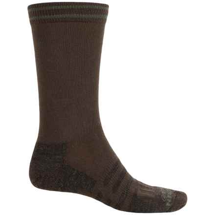 Dahlgren Transit Freelance Socks - Merino Wool-Alpaca, Crew (For Men) in Brown - Closeouts