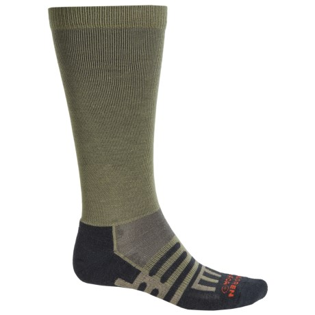 Dahlgren Travelers Compression Socks - Merino Wool-Alpaca, Over the Calf (For Men and Women)