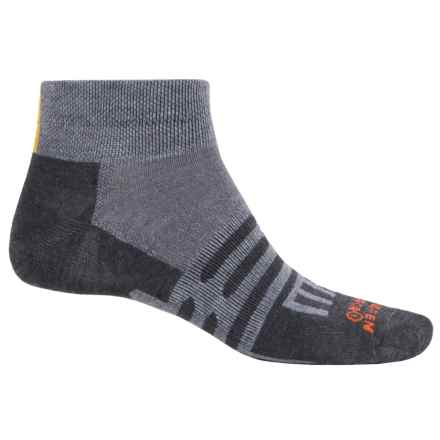 Dahlgren Ultralight Socks - Merino Wool-Alpaca, Below the Ankle (For Men and Women) in Charcoal - Closeouts