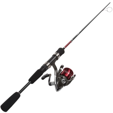 Daiwa D-Cast Shock DSH Freshwater Spinning Reel and Rod Combo - 2-Piece in See Photo
