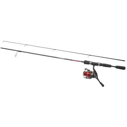 Daiwa D-Cast Shock DSH Spinning Rod and Reel Combo - 2-Piece in See Photo - Closeouts