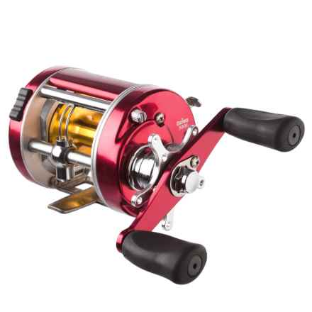 Daiwa Millionaire Classic 300L Baitcasting Reel in Red - Closeouts
