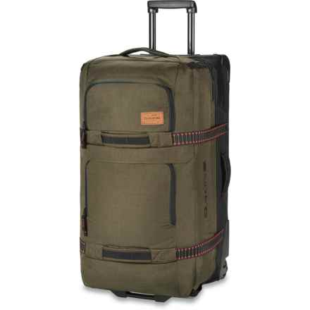 DaKine 85L Split Roller Suitcase (For Women) in Fern - Closeouts